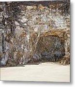 Sandstone Cave Metal Print by Douglas Barnard