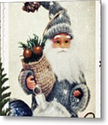 Santa Claus Metal Print by Angela Doelling AD DESIGN Photo and PhotoArt