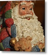 Santa Claus - Antique Ornament - 09 Metal Print by Jill Reger