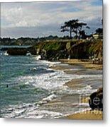 Santa Cruz Beach Metal Print by Carol Groenen