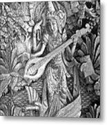Saraswati - Supreme Goddess Metal Print by Karon Melillo DeVega