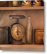 Scale - The Family Scale Metal Print by Mike Savad