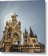 Scaligeri Family Tombs Metal Print by Maria Coulson
