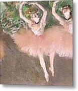 Scene De Ballet Metal Print by Edgar Degas