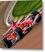 Schumacher Bend Metal Print by Blake Richards
