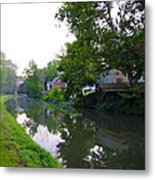 Schuylkill Canal Mont Clare Metal Print by Bill Cannon