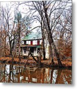 Schuylkill Canal Port Providence Metal Print by Bill Cannon