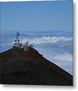Science City Haleakala Metal Print by Sharon Mau