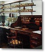 Scientist - Office In Chemistry Lab Metal Print by Susan Savad