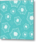 Sea Flower Metal Print by Susan Claire