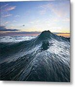 Sea Mountain Metal Print by Sean Davey