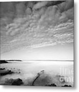 Sea Of Fog Metal Print by Anne Gilbert