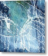 Sea Spray Metal Print by Linda Woods