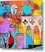 Search Of Lost Time In Venice Metal Print by Ana Maria Edulescu