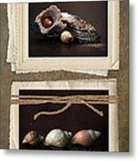 Seaside Momentos Metal Print by Lisa Knechtel