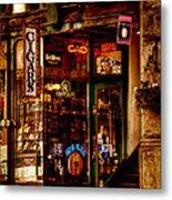 Seattle Cigar Shop Metal Print by David Patterson