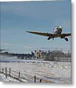 Section Scramble Metal Print by Pat Speirs