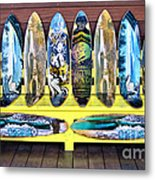 Sector Nine Skateboards Metal Print by Cheryl Young