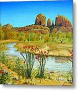 Sedona Arizona Metal Print by Jerome Stumphauzer