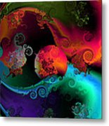 Seperation And Individuation Metal Print by Claude McCoy