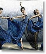 Sequential Dancer Metal Print by Richard Young