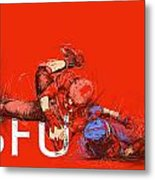 Sfu Art Metal Print by Catf