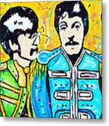 Sgt. Pepper's Lonely Hearts Club Metal Print by Tara Richelle