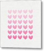 Shades Of Pink Metal Print by Aged Pixel