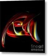 Shades Of Red Metal Print by Greg Moores