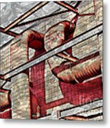 Shai-hulud Caged Metal Print by MJ Olsen