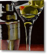 Shaken Not Stirred Metal Print by Cory Still