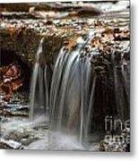 Shale Creek In Autumn Metal Print by Darleen Stry