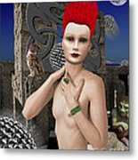 She Returns In Dreamland Metal Print by Keith Dillon