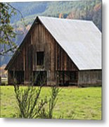 Sheep Barn Metal Print by Katie Wing Vigil
