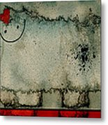 Sheep Or Not So - Bb06 Metal Print by Variance Collections