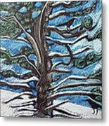Shelter Metal Print by Grace Keown