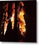 Shenandoah Caverns - 121247 Metal Print by DC Photographer