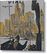 Ship Approaching Land Metal Print by Edward Hopper