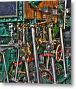 Ship Engine Metal Print by Heiko Koehrer-Wagner
