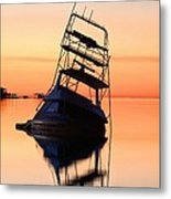 Shipwrecked In Navarre Metal Print by JC Findley