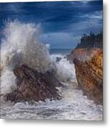 Shore Acre Storm Metal Print by Darren  White