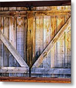 Shuttered Metal Print by The Forests Edge Photography - Diane Sandoval