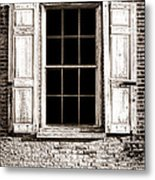 Shutters Metal Print by Olivier Le Queinec