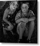Siblings Metal Print by Julie Dant