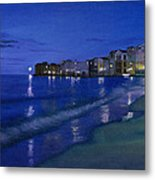 Sicilian Sunset Metal Print by Cecilia Brendel