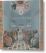Signorelli Luca, Standard Crucifixion Metal Print by Everett