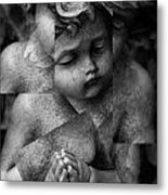 Silence Of A Seraphim  Metal Print by JC Photography and Art