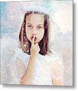 Silent Angel Metal Print by Stephanie Frey