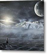 Silent Rise Metal Print by Svetlana Sewell