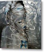 'silver Flight' Metal Print by Christian Chapman Art